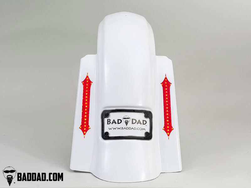 Bad-Dad-Summit-Dual-Bag-Kit-w-Recess-Flush-Mount-Taillight-Black-Plate-09-13-FL miniature 4