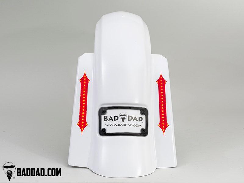 Bad-Dad-Summit-No-Cut-Bag-w-Recess-Flush-Mount-Taillight-Black-Plate-09-13-FL miniature 3
