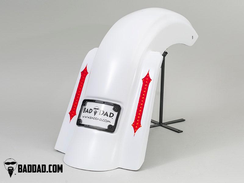 Bad-Dad-Summit-No-Cut-Bag-w-Recess-Flush-Mount-Taillight-Black-Plate-09-13-FL miniature 4