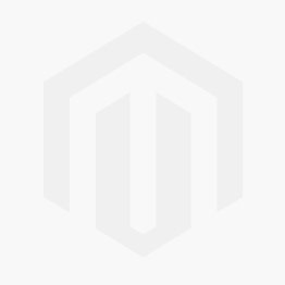 Zox Gloss Silver Sierra SVS Open Face 3/4 Motorcycle Helmet w/ Shield