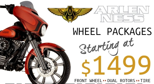 Arlen Ness Wheel Packages Starting at $1499