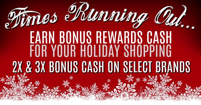 Holiday 2X & 3X Rewards