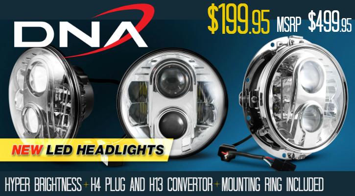 DNA Dayker LED Headlights