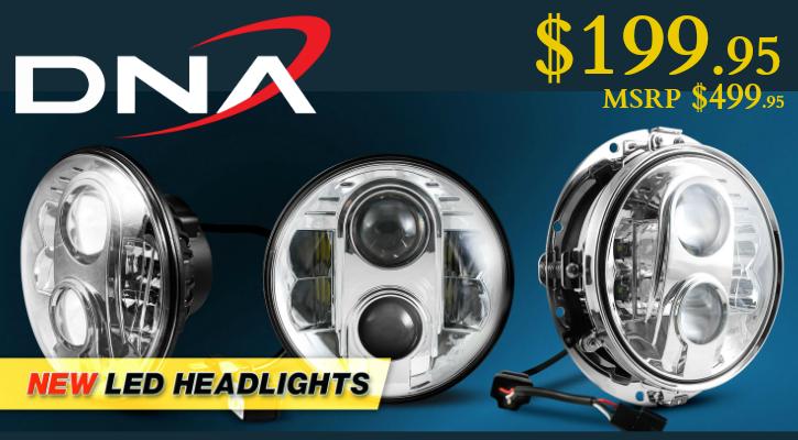 DNA Dayker Headlights