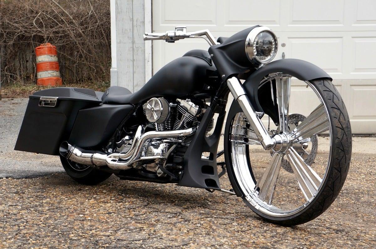 "2003 Harley Road King w/ 30"" Wheel"
