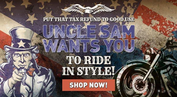 Uncle Sam Tax Refund