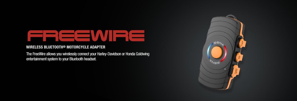 Sena Freewire Wireless Bluetooth Adapter for Harley