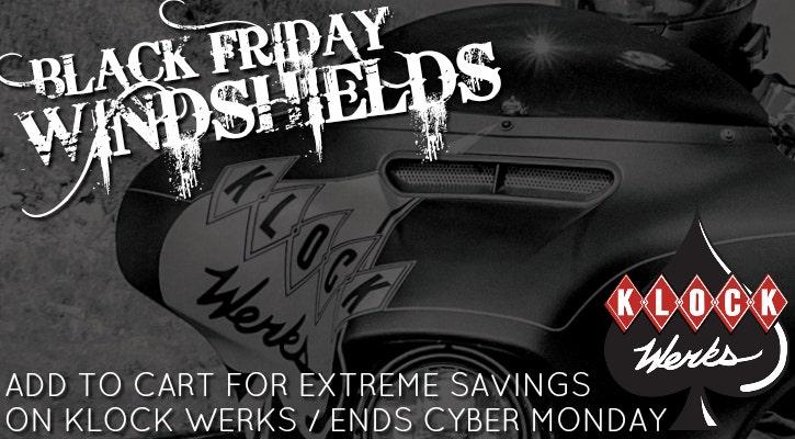 Klock Werks Black Friday Sale