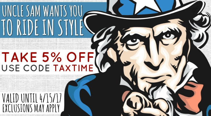 Tax Time Save 5%