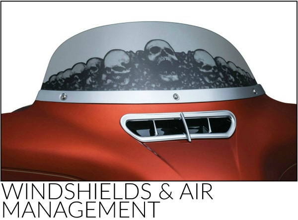 Kuryakyn Windshields and Air Management