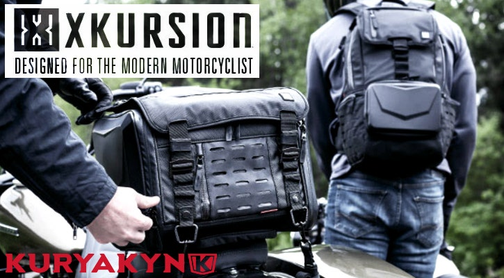 New Kuryakyn Xkursion Luggage