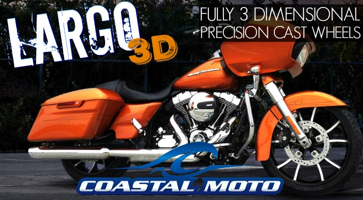 Coastal Moto Largo Wheels
